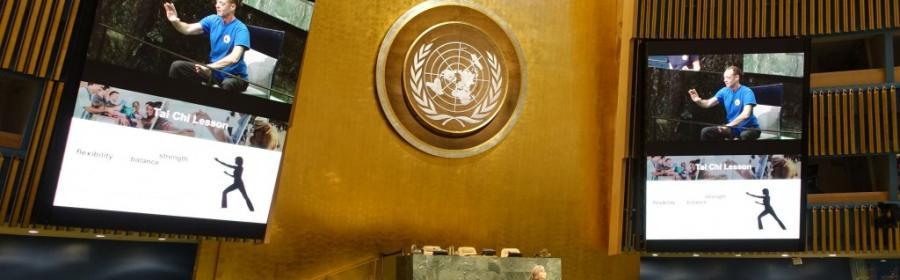 ДАОСЬКЕ ТАЙ ЧІ™ в ООН
